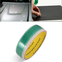 EHDIS 500 см лента, не требующая разрезания дизайн линии винил автомобиля Обёрточная бумага углерода Фольга фильм обрезная лента аксессуары дл...