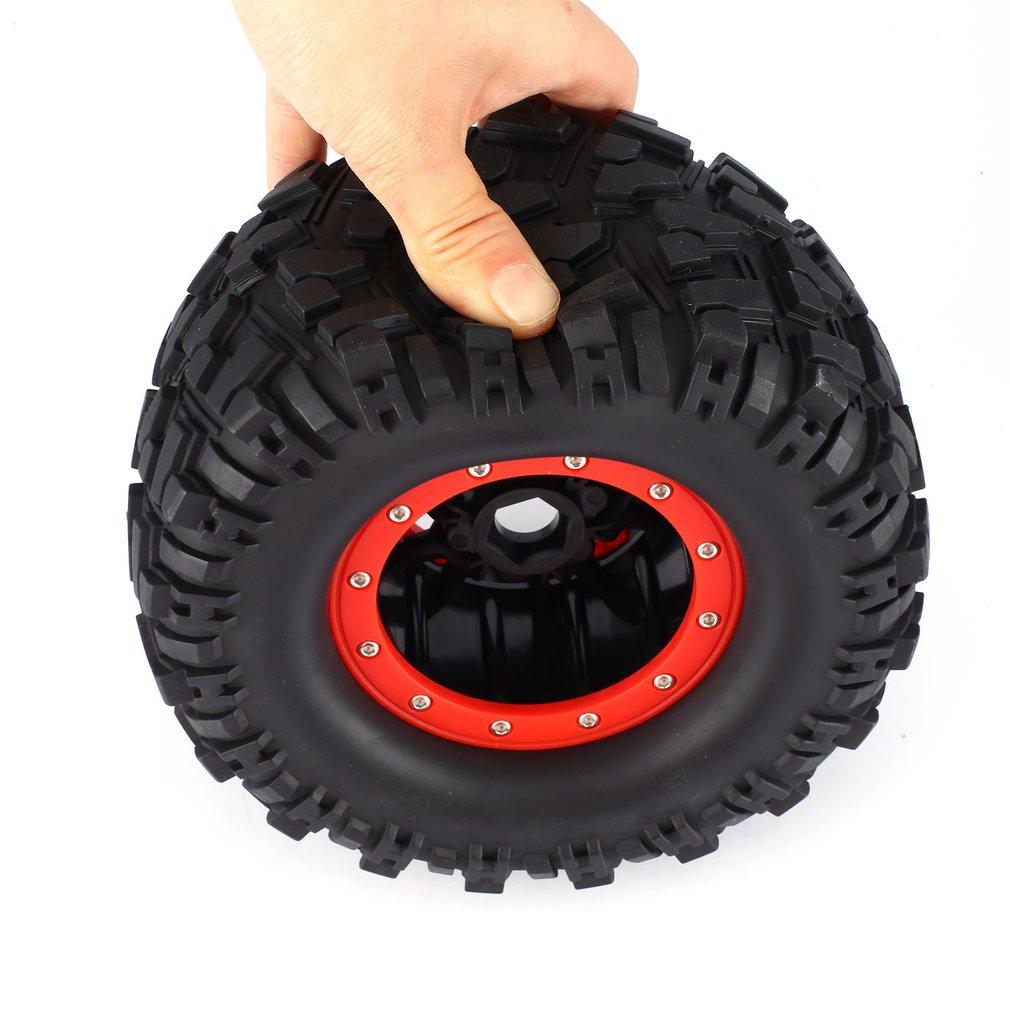 2PCS AUSTAR 3013R Wheel Rim Tire for Redcat Hsp Kyosho Hobao Hongnor Team Losi GM HPI 1/8 Truggy Monster Truck 17mm Hex RC Parts