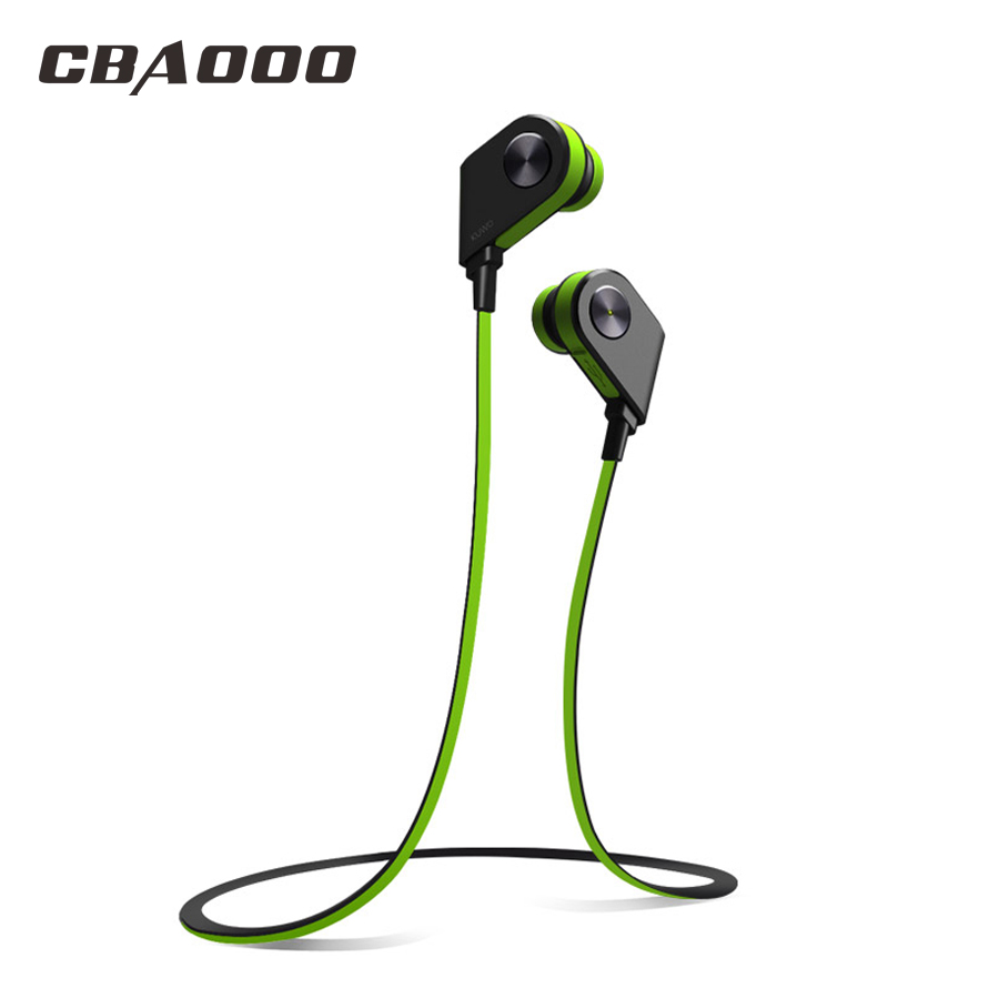 CBAOOO K1 Bluetooth Earphone Wireless Headset Sports Waterproof Noise reduction Stereo with Mic for Android iPhone Xiaomi headset 4 1 wireless bluetooth headphone noise cancelling sport stereo running earphone fone de ouvido for xiaomi iphone huawei