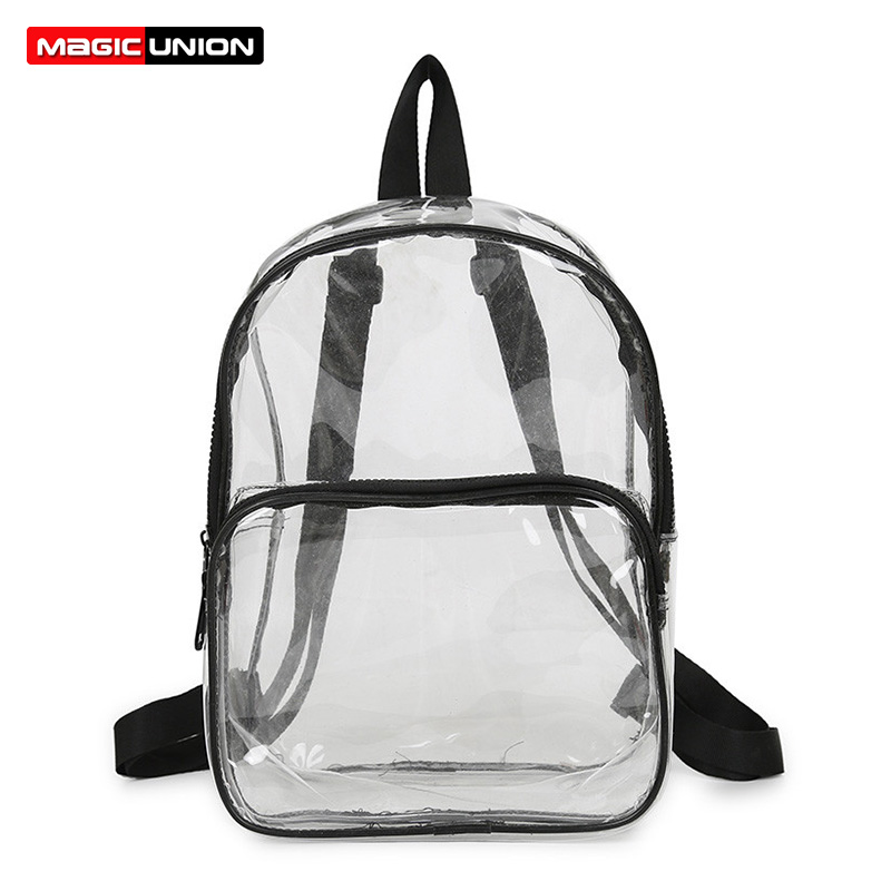 MAGIC UNION Women Fashion Backpack Transparent Versatile Student Bags High Quality Children School Book Backpacks New ArrivalMAGIC UNION Women Fashion Backpack Transparent Versatile Student Bags High Quality Children School Book Backpacks New Arrival