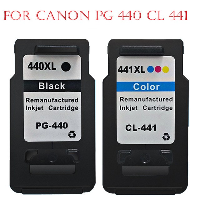 Hisaint Angebot For Canon PG 440 CL 441 PG 440 CL 441 Tintenpatrone PG440CL441PIXMA MG4240 MG4140