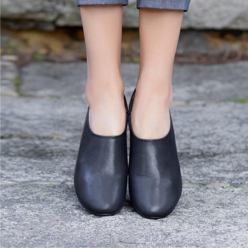 8376f9b60ae1 Nero-scarpe-da -lavoro-pelle-bovina-quattro-stagioni-scarpe-suola-morbida-e-confortevole-semplice-copertura-piedi.jpg