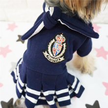 Fashionable School Yorkie Dress