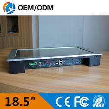 """18.5 """" industrial pc embedded touch screenResolution 1280×1024 industry intel D525 1.8GHz all in one PC"""