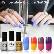 FOCALLURE Brand Bling Nail Polish Gradient Change Colors UV Gel Hot Cold Changing Nice Gel Nail Art Design Hot Sale Gel Lacquer