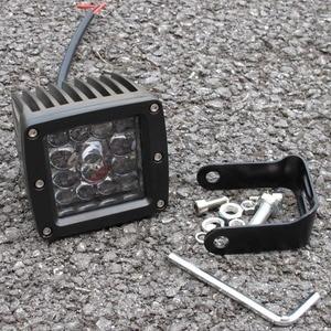 """Image 3 - 3 Inch 5"""" Led Driving Light For Car 4x4 Off road SUV ATV 4WD Pickup Trucks Wrangler 12V 24V Flush Mount Headlight Work Lights"""