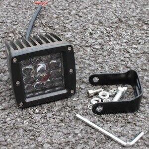Image 3 - Luz led de conducción de 3 pulgadas y 5 pulgadas para coche 4x4 todoterreno SUV ATV 4WD Pickup Trucks Wrangler 12V 24V luces de trabajo de montaje al ras de faros delanteros