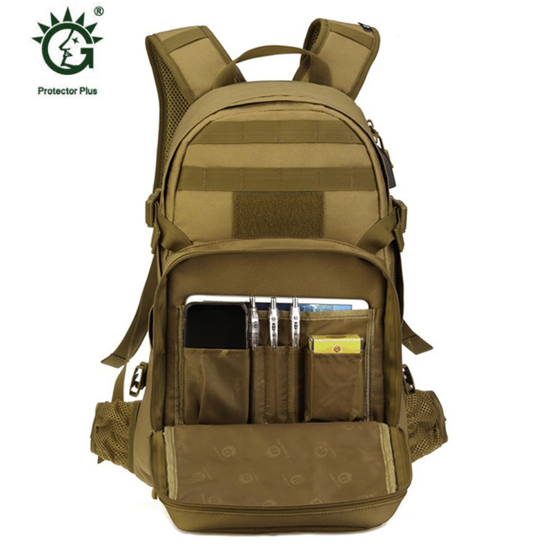 Nouveau sac homme loisirs militaires nylon étanche sac à dos de 25 litres double sac à bandoulière câble de données sac à dos rechargeable. - 3