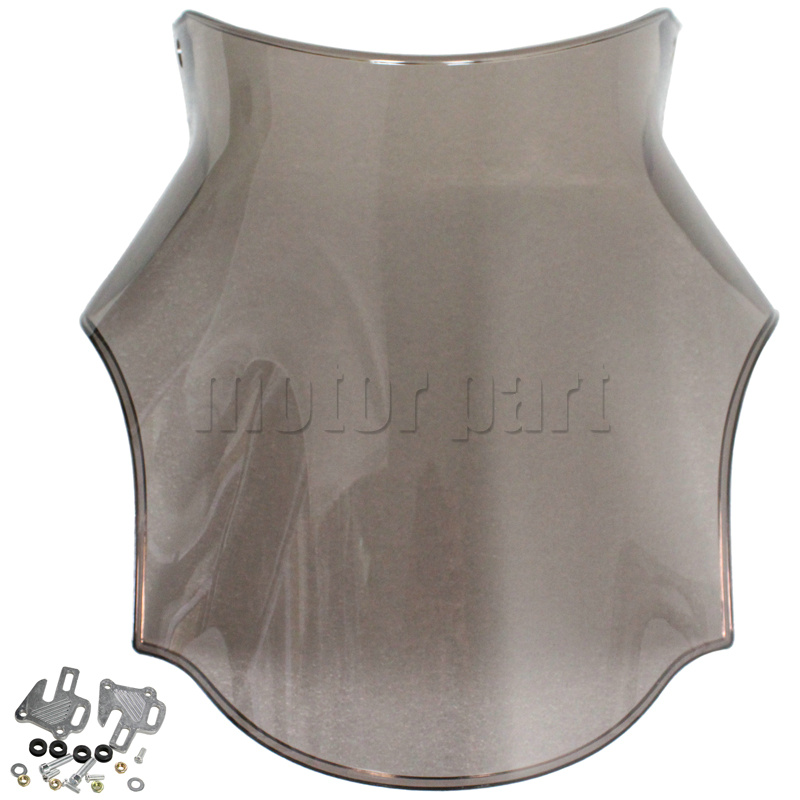 Motorcycle WindScreen Windshield Deflectors For Suzuki SV1000 SV650 GSX1400 SV 650 1000 Bandit GSF GSF650 GSF1200 GSF1250 Smoke