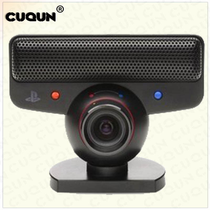 US $12 28 9% OFF|New Arrival Port Motion Movement Sensor Eye Camera for PS3  Microphone Zoom Gaming For PS3 Game Console Gamepad Gaming Controller-in