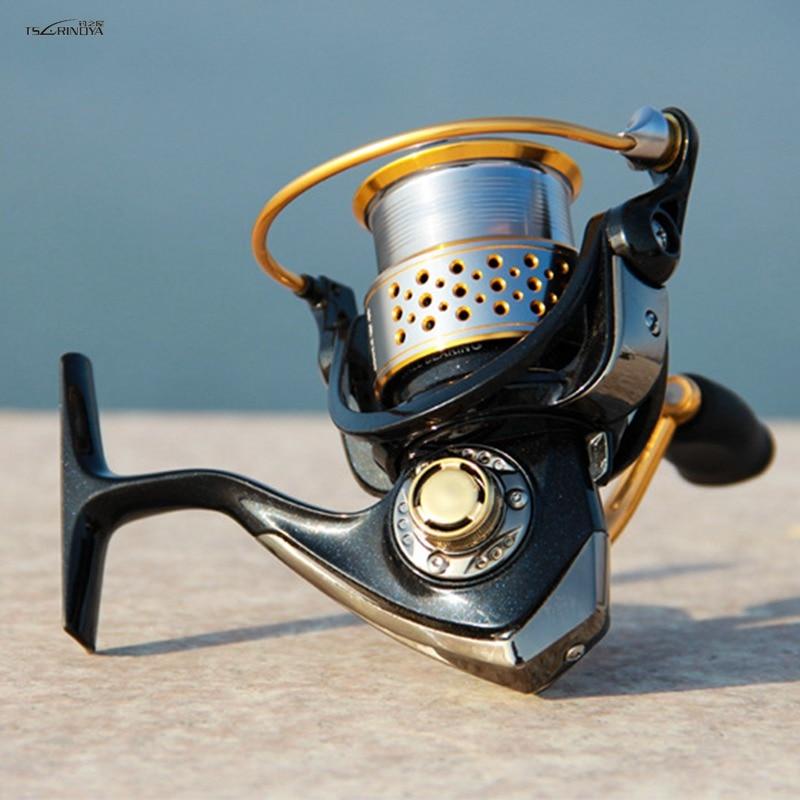 TSURINOYA F2000 9BB 5.2: 1 double Bobines de Filature De Pêche Bobine All Metal Spinning Reel