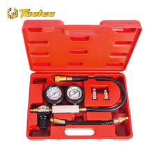 0-100PSI Cylinder Leak Tester TU-21 Compression Leakage Tester Detector Kit Set Petrol Engine Gauge Tool Set Automobile Tools professional cylinder leak detector and crank stopper for engine testing