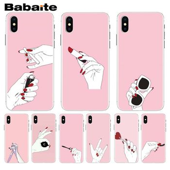 Babaite Moon Spells Makeup pattern Remarkable Popular Phone Case For iphone 8 8plus and 7 7plus 6s 6s Plus 6 6plus 5s Cellphones image