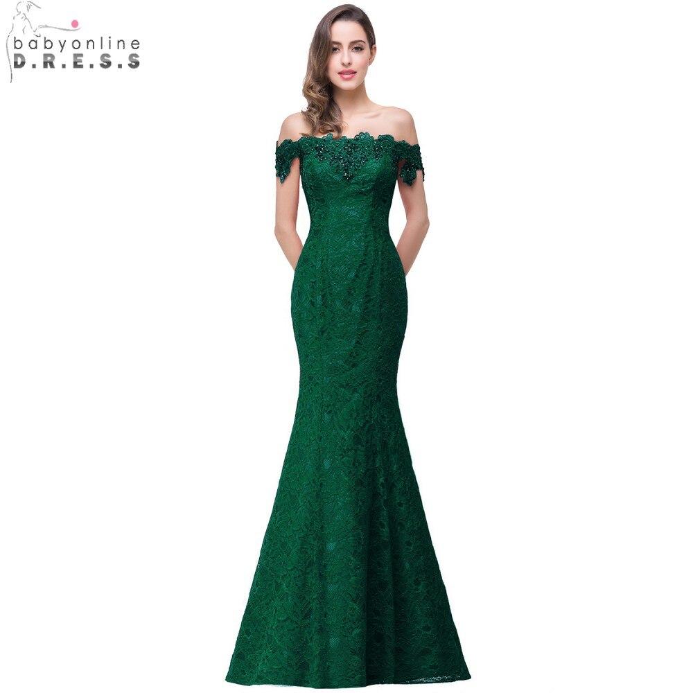 Под $ 50 Элегантные платья с кристаллами и бисерами Красные\ темно-синие королевские кружевные платья в стиле Русалки Длинные вечерние плать...