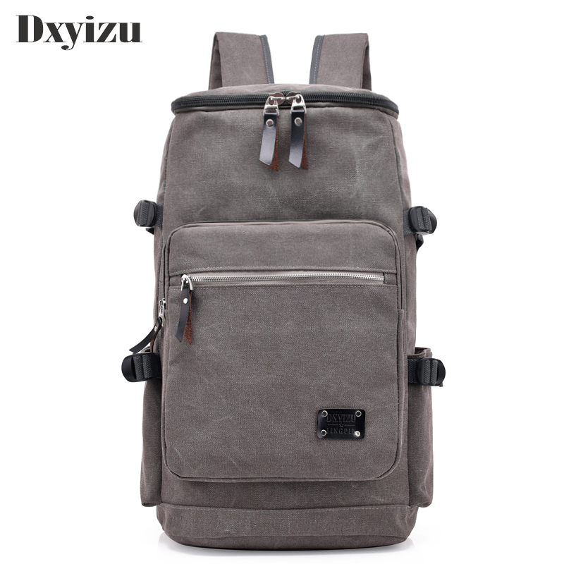 2018 Man's Canvas Backpack String Travel Canvas Male Backpack Men Large Capacity Rucksack Shoulder School Bag Mochila Escolar large capacity canvas backpack men travel bags male laptop shoulder bag school bag for teenagers female mochila rucksack