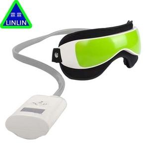 Image 1 - LINLIN luchtdruk Eye massager met Muziek functies. Magnetische ver infrarood verwarming Trillingen therapie bijziendheid breo pangao massage