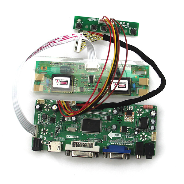 M.NT68676 LCD/LED Controller Driver Board(HDMI+VGA+DVI+Audio) For M220Z1 LTM220M2-L01 LVDS Monitor Reuse Laptop 1680*1050