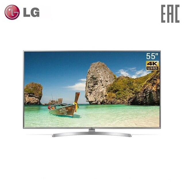 """Телевизор 55"""" LG 55UK6710 4K SmartTV"""