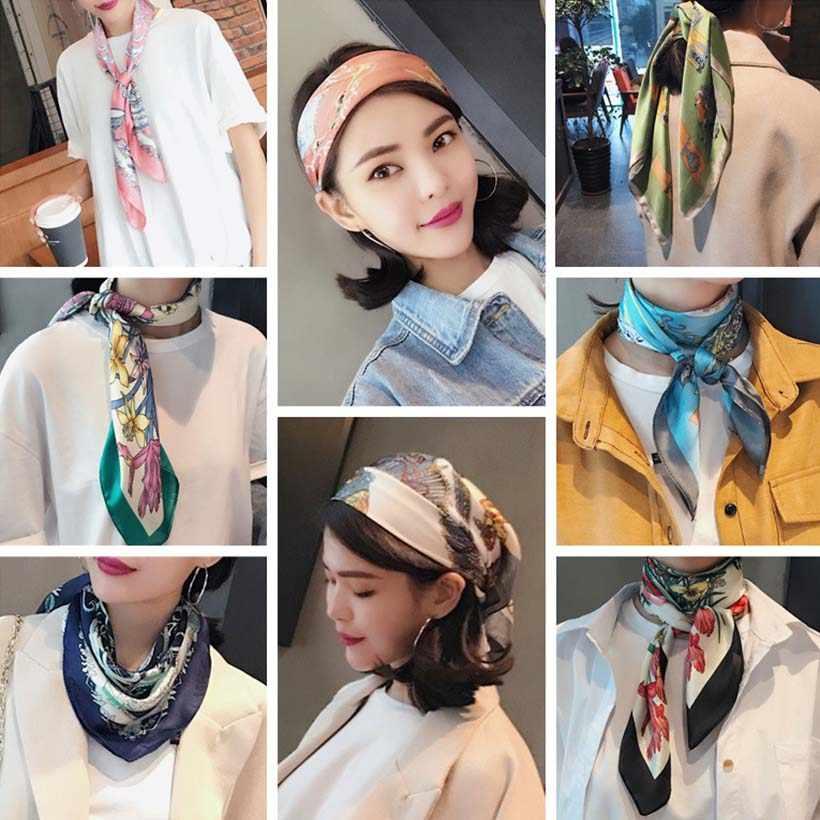 LEVAO корейский леопардовый платок лента для волос шарф эластичная лента для волос женская головная повязка Головные уборы для девочек аксессуары для волос
