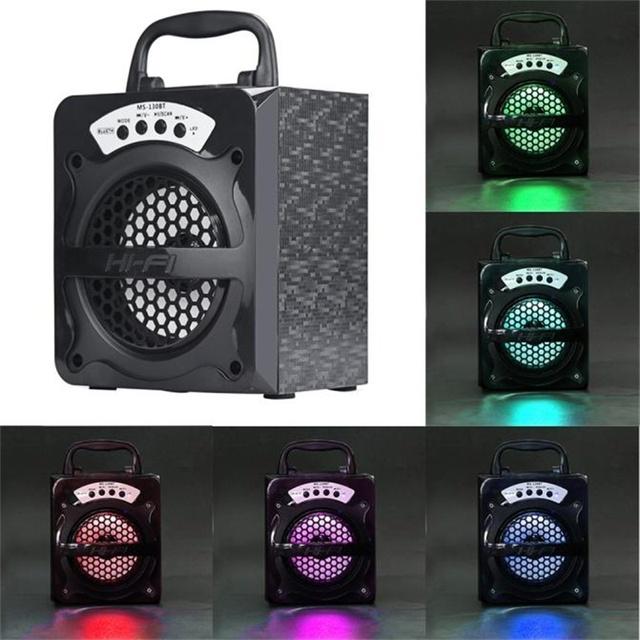 2017 venda quente ao ar livre bluetooth speaker portátil sem fio super bass com usb/tf/aux/fm radio