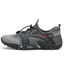 Size 38-46 Summer Men hiking shoes Breathable trekking shoes outdoor sport climbing walking shoes Quick Dry Shoes zapatos hombre цена