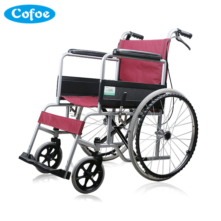 Household&hospital medical equipment High quality aluminum alloy wheelchair portable fashionable folding wheelchair professional 7005 aluminum alloy tube clap long track ice blade 64hrc high quality dislocation skate shoes knife 1 1mm frame