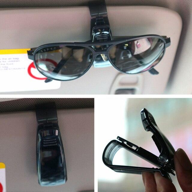 Hot Sale Auto Fastener Cip Auto Accessories ABS Car Vehicle Sun Visor Sunglasses Eyeglasses Glasses Holder Ticket Clip for cruze