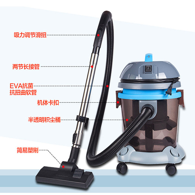 German Quality High Power Water Filtration Vacuum Cleaner Household Wet And Dry Mute Mites Strong Toner