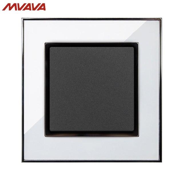 MVAVA 1 Gang 1/2 Way Light Control Switch EU/UK Standard Wall ...