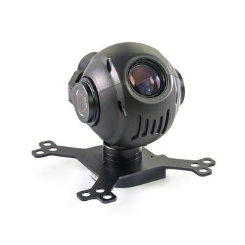 Hawkeye-III 3 Axis Gimbal with 18x Zoom Optical Camera