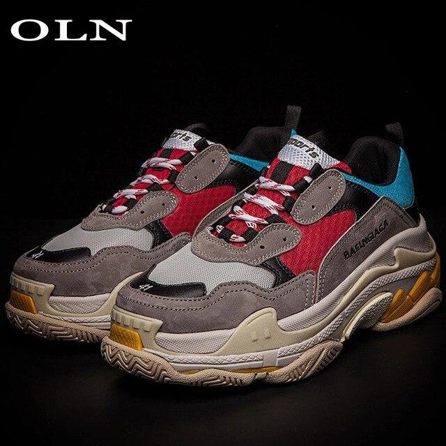 d25af0049 oln Sport Shoes For Women Super Light Long Distance Men Running Shoes Women  Running Shoes Walking Shoes Long Distance Brand