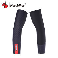 HEROBIKER Sunscreen Arm Sleeves Motocycle Cycling Hiking Running Arm Stockings UV Protective Arm Warmers