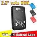 """Металл 2.5 """"2.5 дюймов USB 3.0 HDD Case Жесткий Диск USB3.0 к SATA Внешние Накопители HDD Корпус алюминиевый Ящик"""