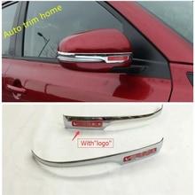 High Quality For Suzuki Vitara 2015 ABS Rearview Mirror cover Side Molding Trim 2 pcs / set