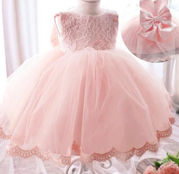High Quality Baby Girl Dress Baptism Dress for Girl Infant 1 Year Birthday Dress for Baby Girl Chirstening Dress for newborn