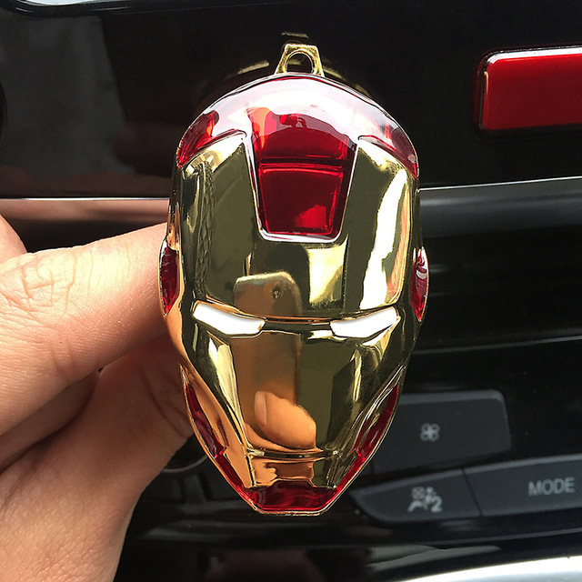 Car Air Freshener Clip Air Conditioning Ventilation Perfume Avengers Marvel Spider-Man Star Wars Fan Car Products Accessories 3