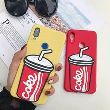 Funny 3D cola soft silicone case For Oneplus 5 5T 6 6T 7 Pro