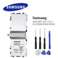 Original Tablet Batterie T4500E Für Samsung Galaxy Tab 3 10,1 GT-P5210 P5200 P5220 P5213 6800 mAh Reale Kapazität Akku