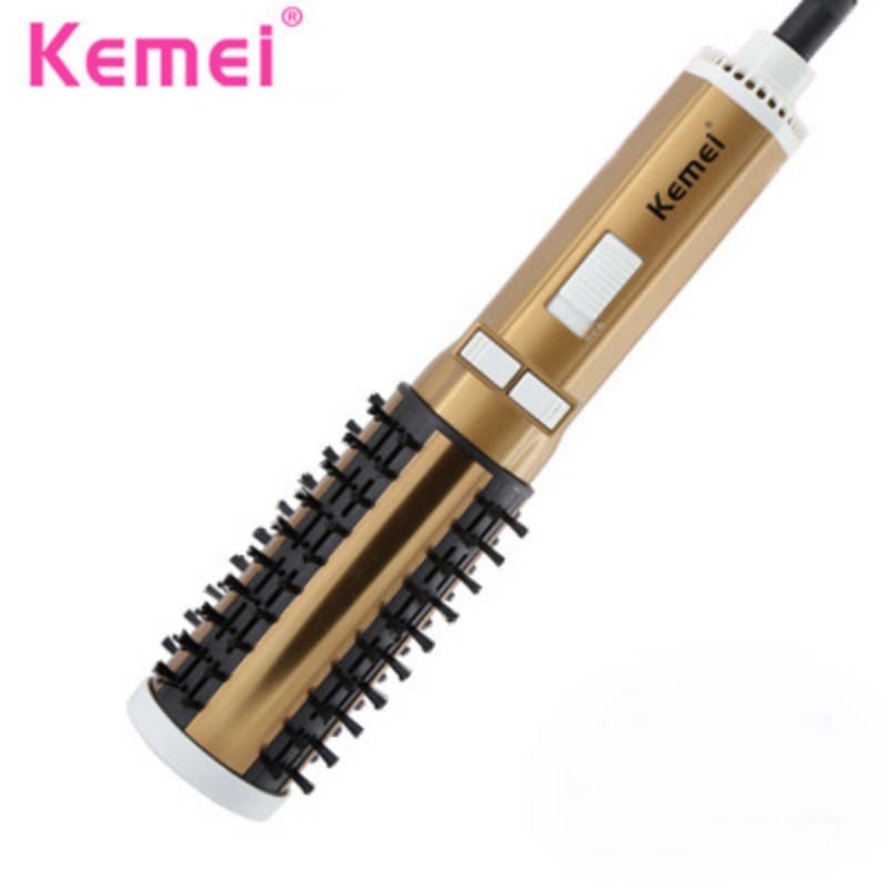 styling hair dryer brush kemei electric hair comb hair styling tools anion 4136