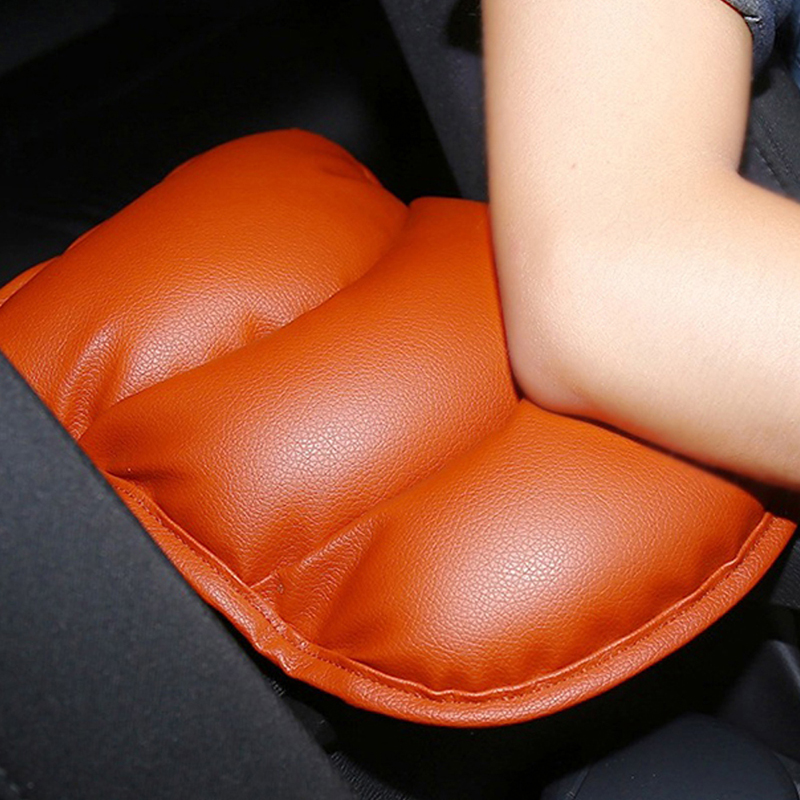 For Lada Vesta Leather Armrest Pillow Pad Center Box Pads Car Arm Rest Top Cover