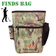 Metal Detector Pouch Bag Digger Supply Treasure Waist Pack Good Luck Finds Bag Garden Detecting Tools Shovel Bag