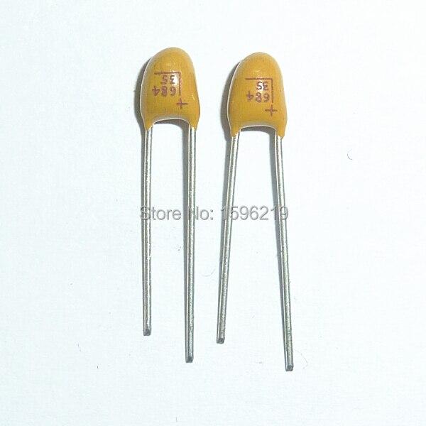 4.7uF 35V Dipped Tantalum Capacitors 10pcs
