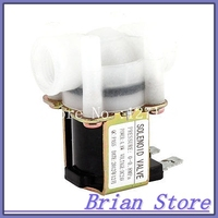 1/4 Female Thread 2 Position 2 Way Water Inlet Electric Solenoid Valve DC 24V