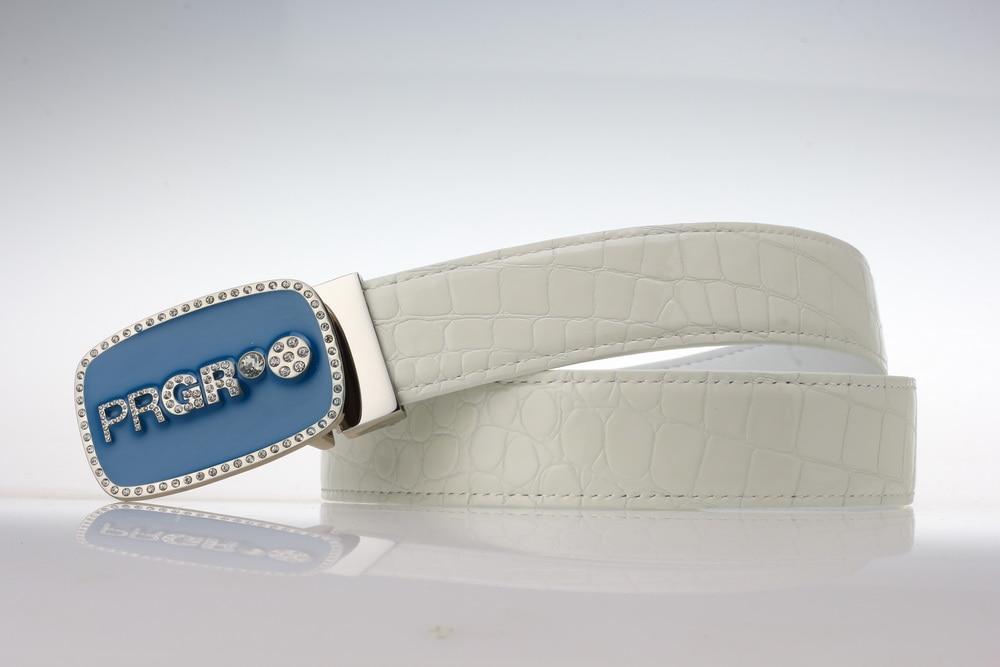 brand women golf belt sports waistband genuien leather waist belt for lady pants skirt 90-105cm Alligator Pattern girl golf