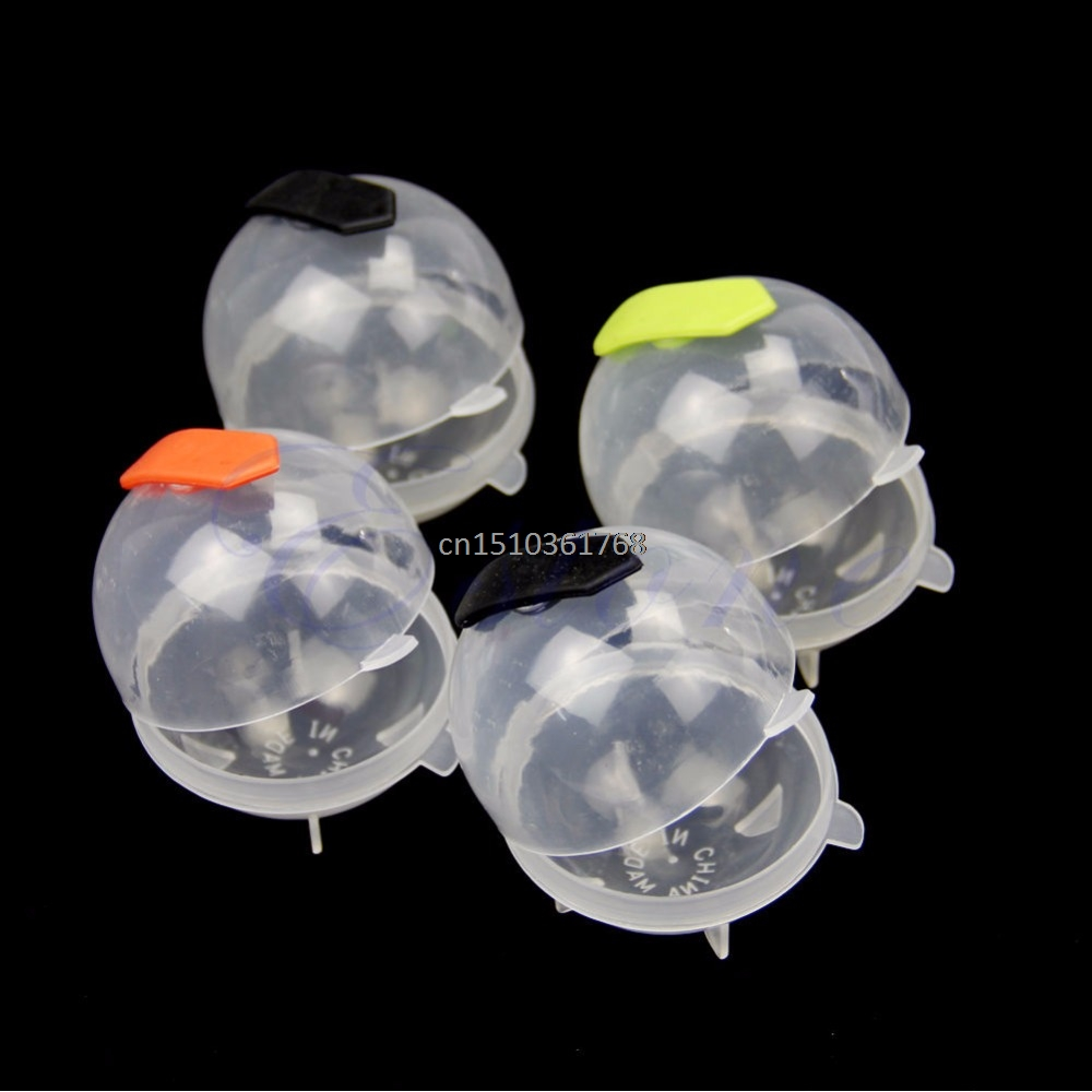 Large Ice Brick Round Sphere Tray Cube Party Bar Ball Kitchen Maker Mould Mold #Y05# #C05# 1x silicone ice cube sphere tray mold mould round square maker bar home diy 043 076