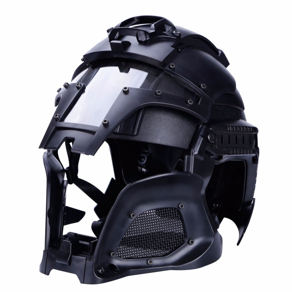 WoSporT Tactical Military Helmet Ballistic Side Rail NVG Shroud Transfer Base Outdoor Sports Army Combat Airsoft Paintball цена
