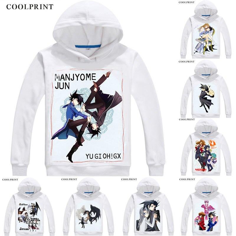 Men's Clothing Manjoume Jun Chazz Princeton Mens Hoodies Yu-gi-oh Gx Duel Monsters Generation Next Men Sweatshirt Streetwear Anime Long Hooded