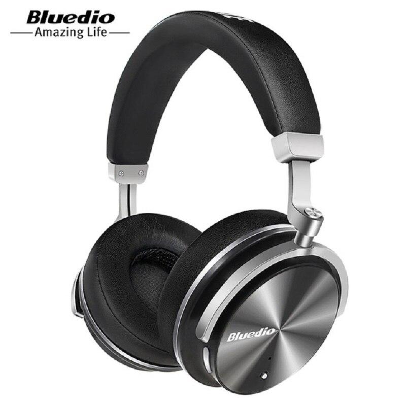 100% Orignal Bluedio T4 casque sans fil Bluetooth MP3 casque Portable casque avec Microphone pour téléphones portables et musique