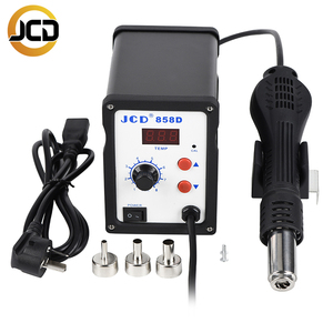 Image 3 - JCD858D Hot Air Soldering Station 220V/110V 700W hot air gun Electric Soldering Iron Kit quality DIY and SMD Rework
