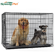 wholesale Domestic Delivery Pet Dog Cage Crate Double-Door P